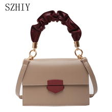 Fashion Hand Bags Bolsos De Mujer Shoulder Bag Women Luxury Designer Yellow Sac A Main Bandouliere Femme Small Panelled Flap Red