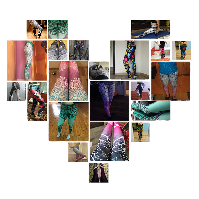 LI-FI Print Yoga Pants Women Unique Fitness Leggings Workout Sports Running Leggings Sexy Push Up Gym Wear Elastic Slim Pants 5