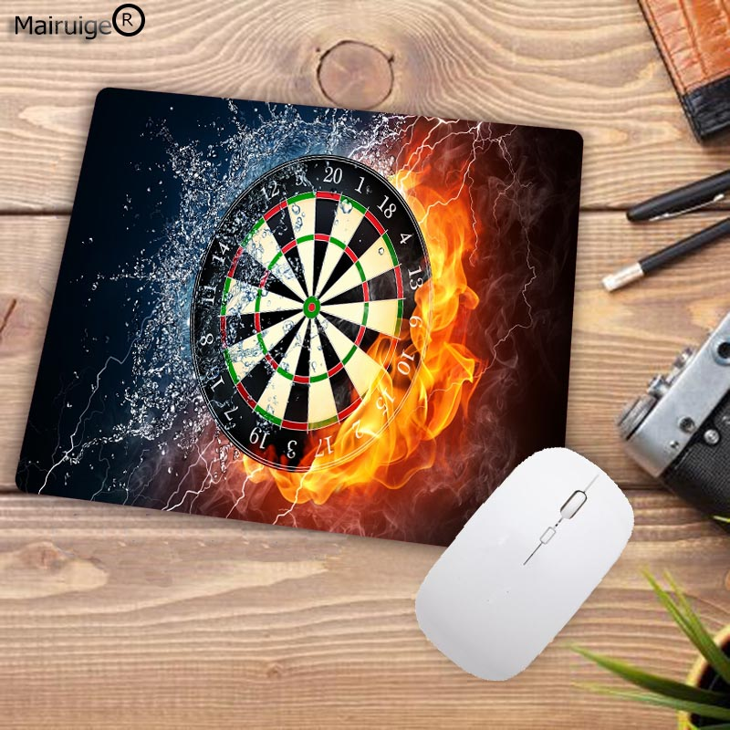 XGZ Fire Darts Durable Gaming Optical Glasses Target Printed Pattern Computer Mouse Pad Notepad Desktop Cup  Mat