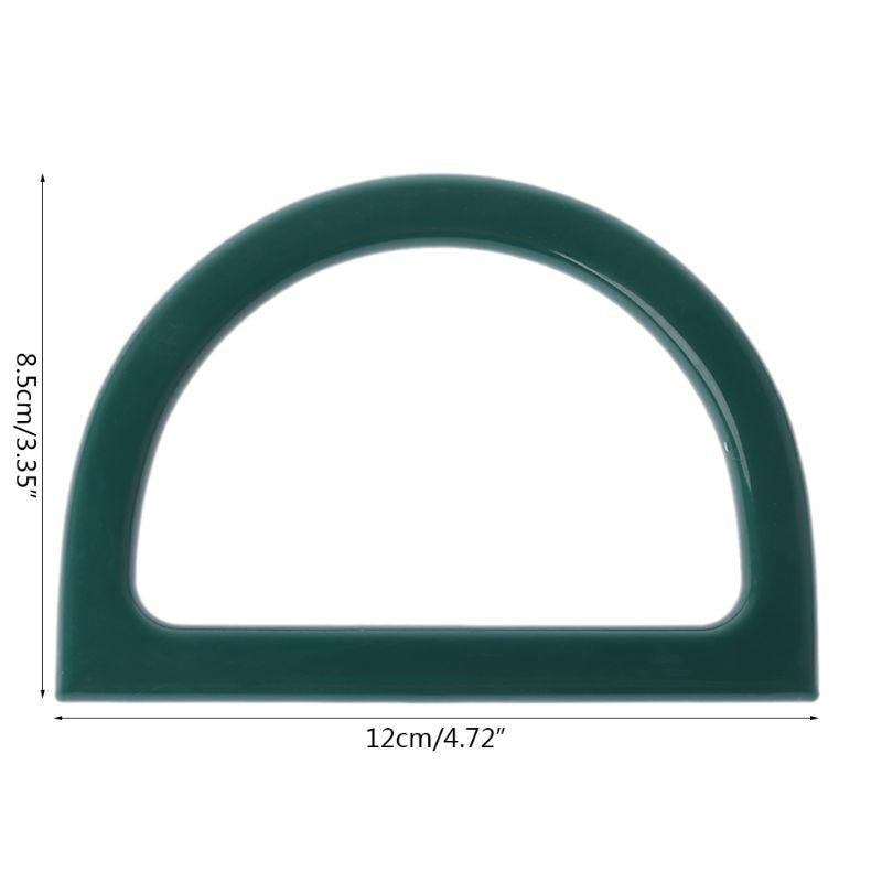 Plastic Bag Handle Replacement for DIY Purse Making Handbag Shopping Tote 517D