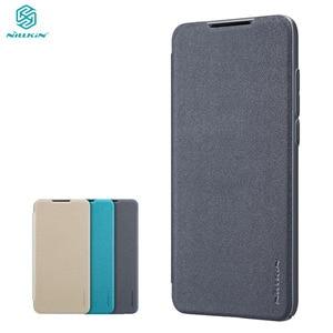 Image 1 - For Xiaomi Mi 9 Lite CC9 CC 9e Flip Case Cover Nillkin Sparkle super thin PU Flip leather Cover For Xiaomi Mi A3 Phone Bags