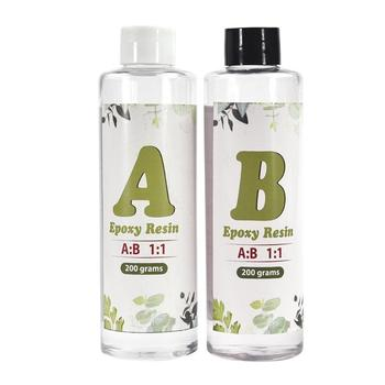 Clear AB Crystal Glue Resin Epoxy High Adhesive 1:1 AB Epoxy Glue For DIY Resin Jewelry Making Accessories 100g/200g/500g/1000g