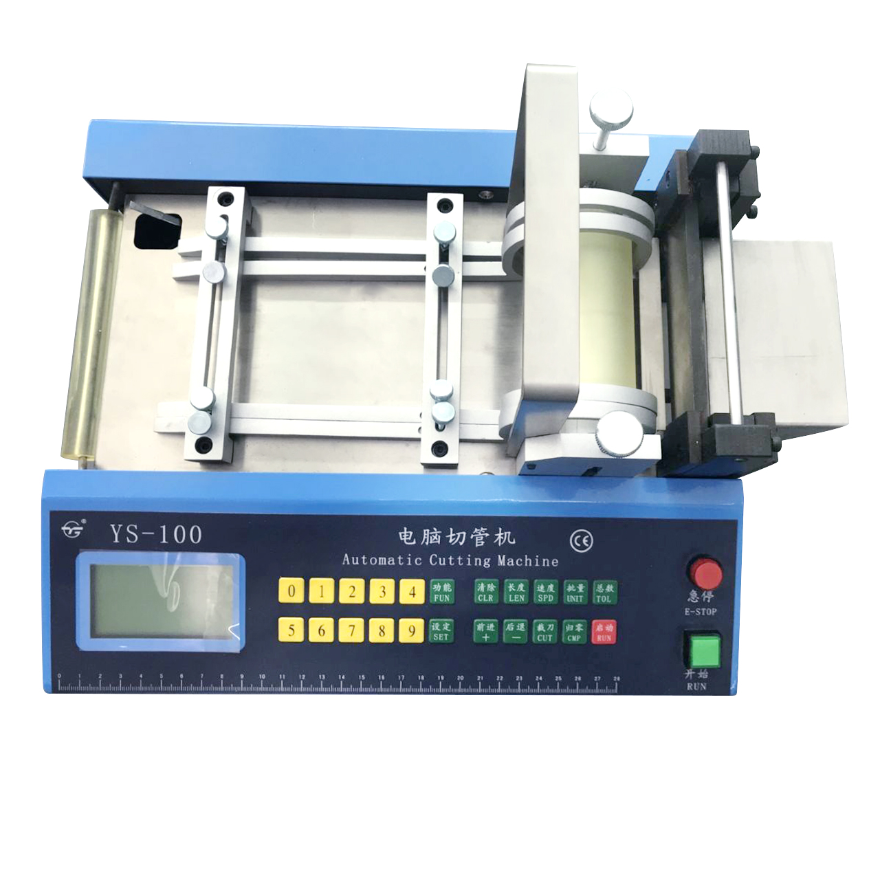 Auto Heat-shrink Tube Cable Pipe Cutting Machine Automatic Cable PVC Pipe Cutter 110V/220V