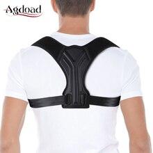 Корректор осанки для поддержки спины регулируемый пояс для коррекции осанки для мужчин, женщин и детей Размер s/m/l