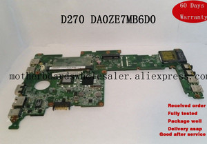 Per Acer Aspire One D270 Scheda Madre Netbook w/ N2600 CPU DA0ZE7MB6D0 MBSGA06002 Rev:D(China)