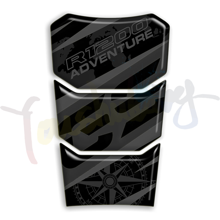 12 Colour 3D Reflective Motorcycle For R1200 GS ADVENTURE R 1200 R Gs Fuel Tank Pad Protector Sticker Decal