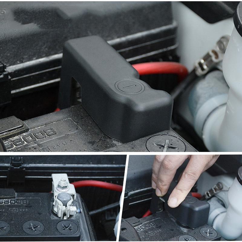 For Toyota Land Cruiser Prado FJ 150 2010-18 Car Battery Anode Protection Cover