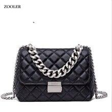 ZOOLER serpentine pattern Bags handbags women famous brand women messenger bag lady cross body elegant chain bolsa feminina#B135