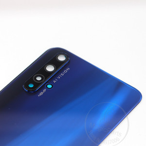 Image 3 - Copertura posteriore Per Huawei Honor 20 Pezzi di Ricambio Della Copertura Posteriore Della Batteria del Portello Dellalloggiamento + Flash copriobiettivo della fotocamera +