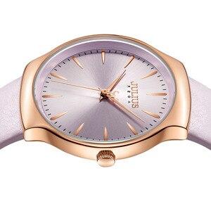 Image 3 - Nouvelle élégante montre pour femme Julius japon Movt Hours mode horloge Bracelet en cuir véritable fille anniversaire noël boîte cadeau