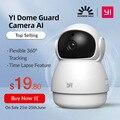 Купольная ip камера YI Dome Guard Camera, Технология искусственного интеллекта, Wi-Fi подключение, система домашнего видеонаблюдения, обнаружение чело...