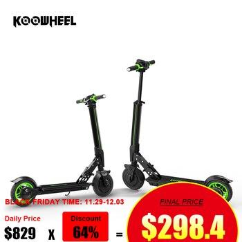 Scooter Eléctrico plegable Koowheel con APP 6000mAh Trotinette Electrique adulte Scooter Eléctrico Longboard para adultos