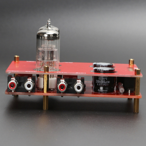 Image 2 - 240*90*115mm placa de amplificador 110 v 220 v 6n3 6h3n bile preamp tubo de alta fidelidade febre bile preamp amplificador com transformador