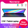 Nenmone 10.5 Inch Working Tablet 4G Network Portable Android Tablet 2 in 1 Laptop GPS Gaming Tablet With Keyboard 13MP Camera