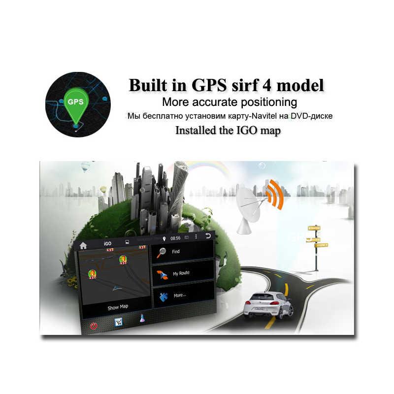 IPS DSP z systemem Android 9.0 Octa rdzeń 4GB + 64GB samochodowy odtwarzacz dvd odtwarzacz Radio RDS mapa GPS WiFi Bluetooth 4.2 dla Benz Smart Fortwo 2015 2016 2017
