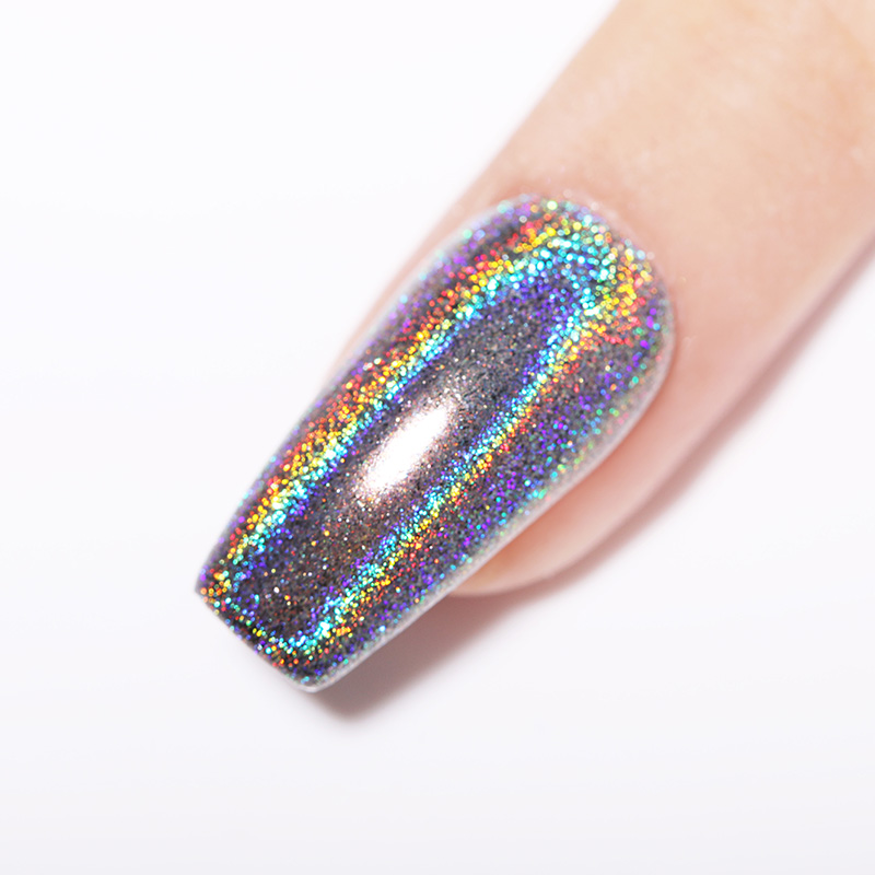 Image 4 - BORN PRETTY Holographic Mirror Dipping 4 IN 1 Nail Powder 10ml Acrylic Carving Extension Polymer Nail Powder Glitter Decoration-in Nail Glitter from Beauty & Health