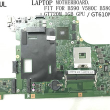 LAPTOP MAINBOARD HM77. 610M B580/v580c NEW GPU 1GB Fit-For Gt720m/gt