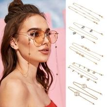 Sunglasses Chains Eyewear-Accessories Necklace Strap Reading Retainer Fashion Non-Slip