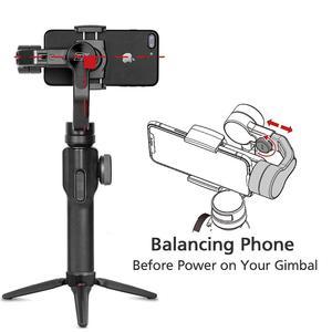 Image 2 - ZHIYUN Smooth 4 公式スムーズ 4 電話ジンバル 3 軸ハンドヘルド安定剤スマートフォンiphone/huawei/サムスン/アクションカメラジンバル