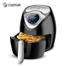 Air Fryer Kapasitas Besar Air Fryer Multi-Fungsi Rumah Tangga Bebas-rokok Electric Frying Pan Smart Touch Layar Kentang Goreng mesin(China)