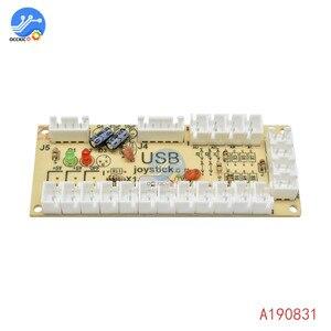 Image 4 - 1 個のゼロ遅延アーケードのusbエンコーダpcジョイスティックアーケードロッカー回路ボード制御パネルmameゲーム