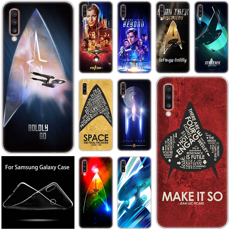Star Trek Soft Silicone Case For Samsung Galaxy A90 A80 A70 A60 A50 A40 A30 A10 A20E A2CORE A9 A7 A8 A6 Plus 2018 A5 2017 Cover image