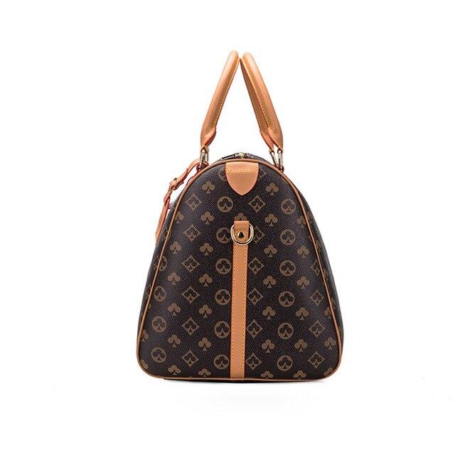 Moda à prova dwaterproof água sacos de viagem homens/mulheres fitness bolsa de ombro de couro bolsa de negócios grande viagem tote bagagem saco masculino/feminino 4