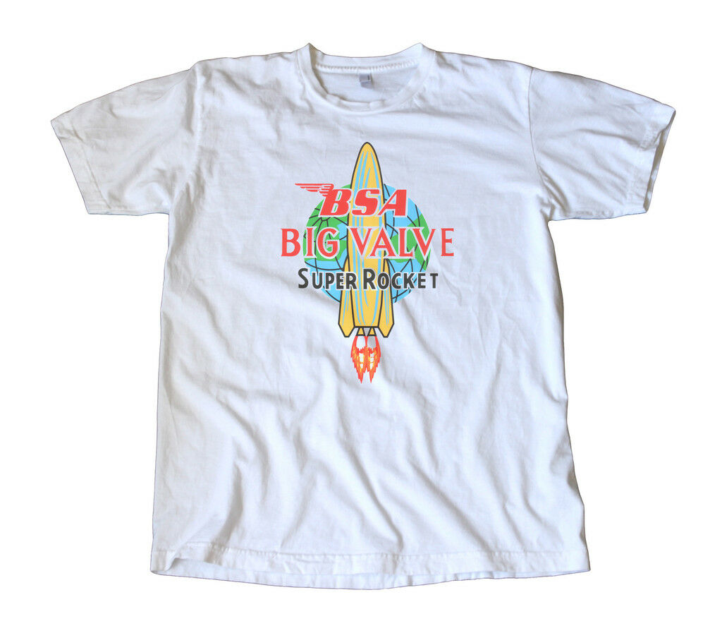 <font><b>BSA</b></font> Big Valve Super Rocket Decal T-<font><b>Shirt</b></font> image
