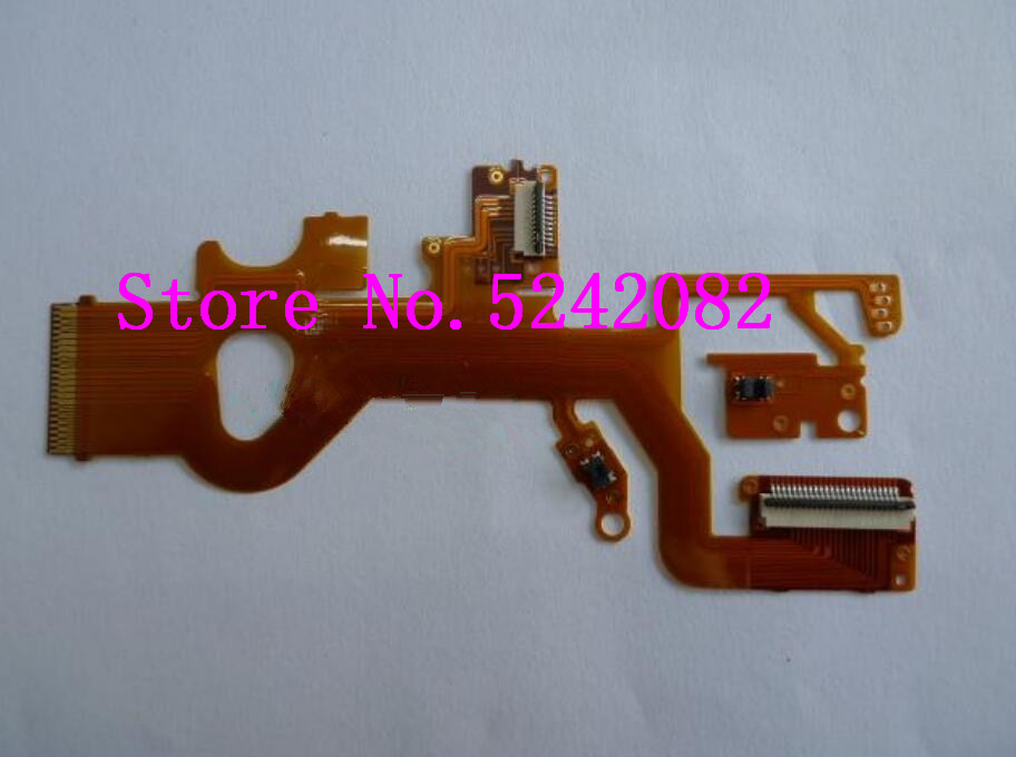 NEW Lens Flex Cable FPC (with Sensor And Socket ) For Panasonic DMC- ZS8 ZS10 TZ18 TZ20 For Leica V-Lux30 Repair Part