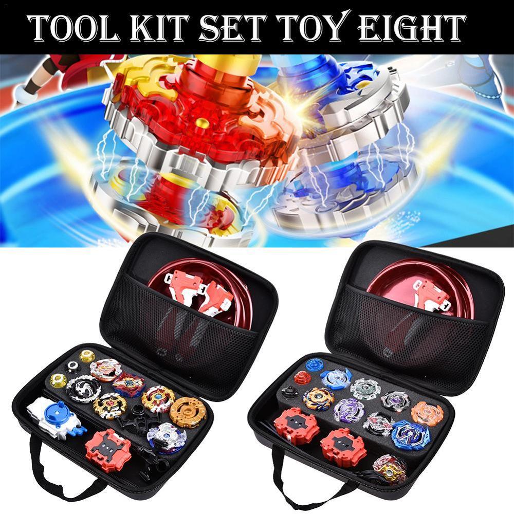 Eight Packs Battle Tops Case Toy Stadium Beyblades Burst Launcher Battle Set For Children Toy Top Gyro Toolkit Set Toys