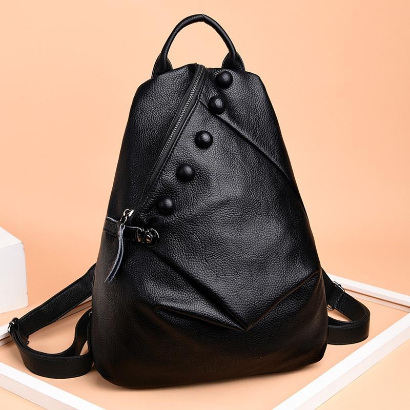 New Women Girls Backpack Fashion Shoulder Bag Rucksack PU Leather Travel bag B3