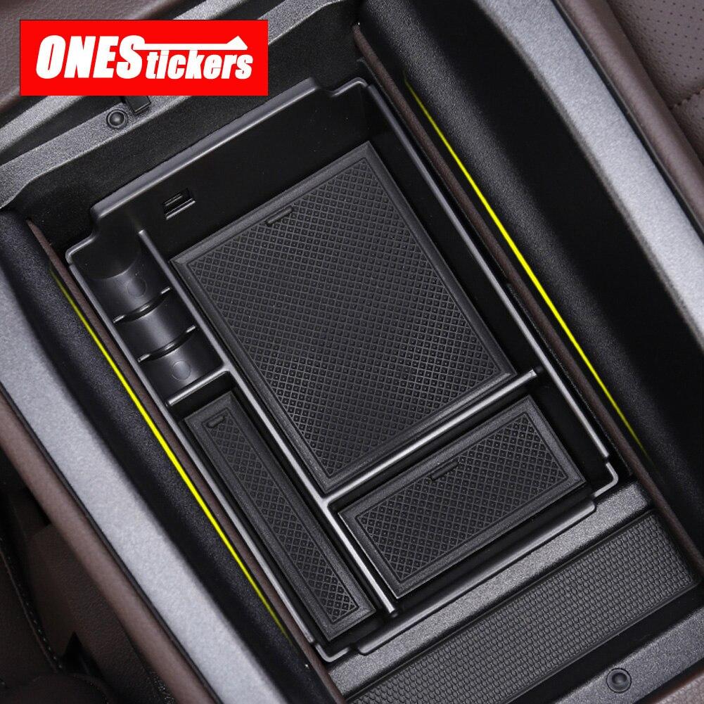 For Mercedes Benz GLE Class W167 V167 GLE350 450 400d 2020  Car Central Armrest Box Door Glove Storage Box Organizer Tray Holder
