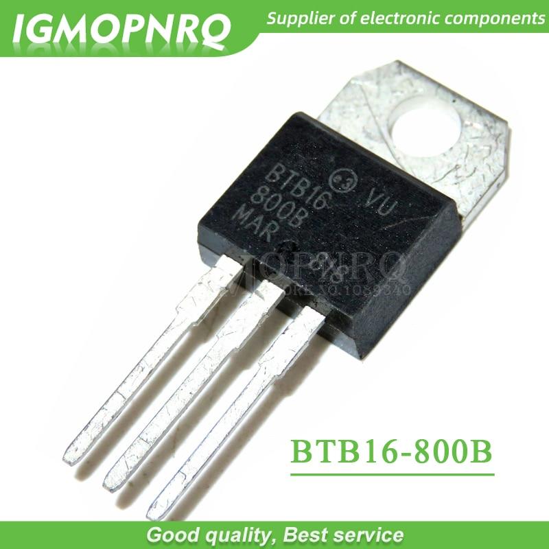 Triac BTB16-800BW  TO-220 ST MICROELECTRONICS Top Qualité