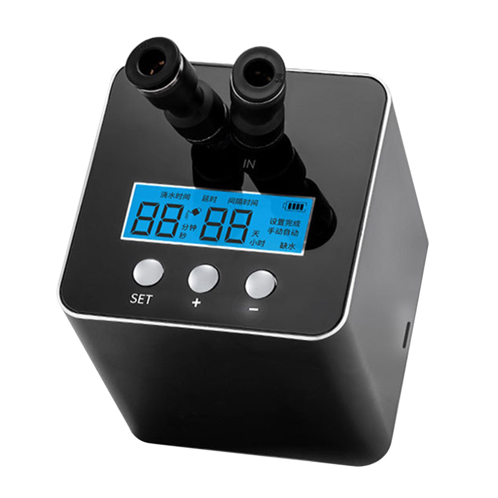 Timed USB Interface Smart Balcony Drip Irrigation System Automatic Watering Device Home Humidification Outdoor Garden Sprinking