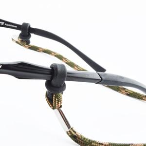 Image 5 - 20 個アーミーグリーン眼鏡スポーツ臍帯チェーン文字列メガネチェーン、調整可能なサングラススポーツバンドヘッドストラップヘッドバンド