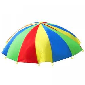 Props Training-Equipment Kindergarten Early-Education Rainbow-Umbrella Game Sense Fun
