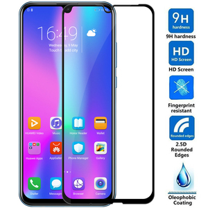 9D Tempered Glass on For Huawei Honor 10 20 Lite V10 V20 10i 20i 20s Screen Protector For Honor 8X 9X 8A 8S Glass Safety Film