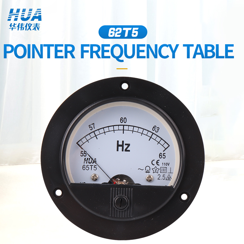 65T5/65C5 AC Analog Frequency Table / Hz Meter /Herzt Meter 45-55Hz 45-65Hz 55-65Hz Factory Direct Sales, Complete Specification