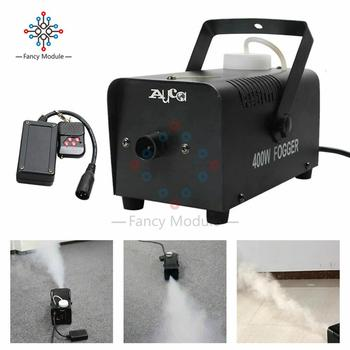 400w Fog machine disinfection machine Mini remote smoke generator Disc home party stage smoke machine gun Atomization