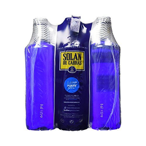 Solan De Cabras Acqua Minerale 1,5 L [Pack Of 6]