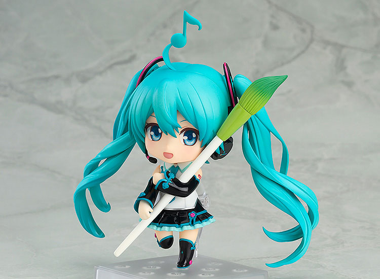 Hatsune Miku V4 Chinese Ver. PVC Action Figure Collectible Model Toy 10cm