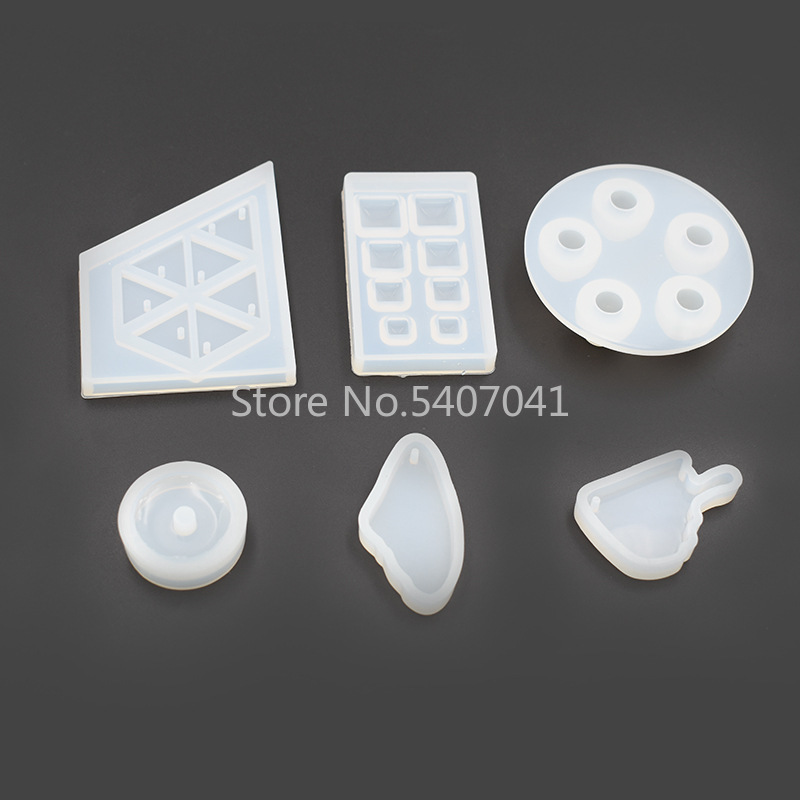 1PC Beads Bracelet Fish Knife Pendant DIY Silicone Mold Dried Flower Jewelry Accessories Tools Equipments Resin Molds