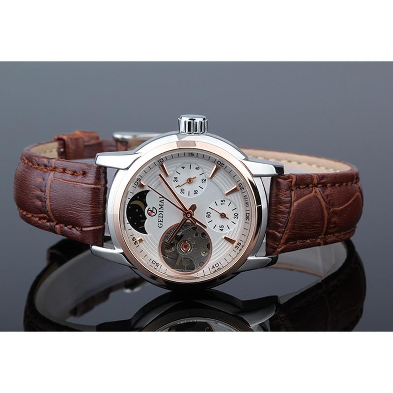 Women Watches Automatic Mechanical Watch Female Tourbillon Clock Reloj Mujer Skeleton Hour Top Brand Wristwatch Relogio Feminino