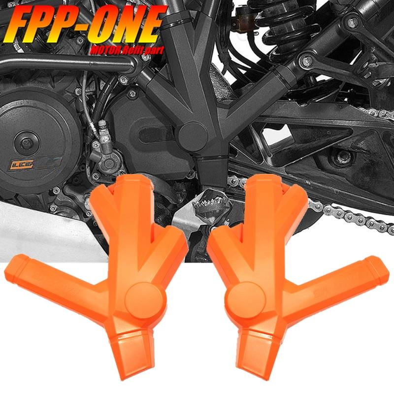 Para KTM 1090 1190 ADVENTURE 1290 accesorios de motocicleta SUPER ADVENTURE funda protectora de marco de parachoques Manillar de agarre de Gel de freno de goma para motocicleta de 7/8
