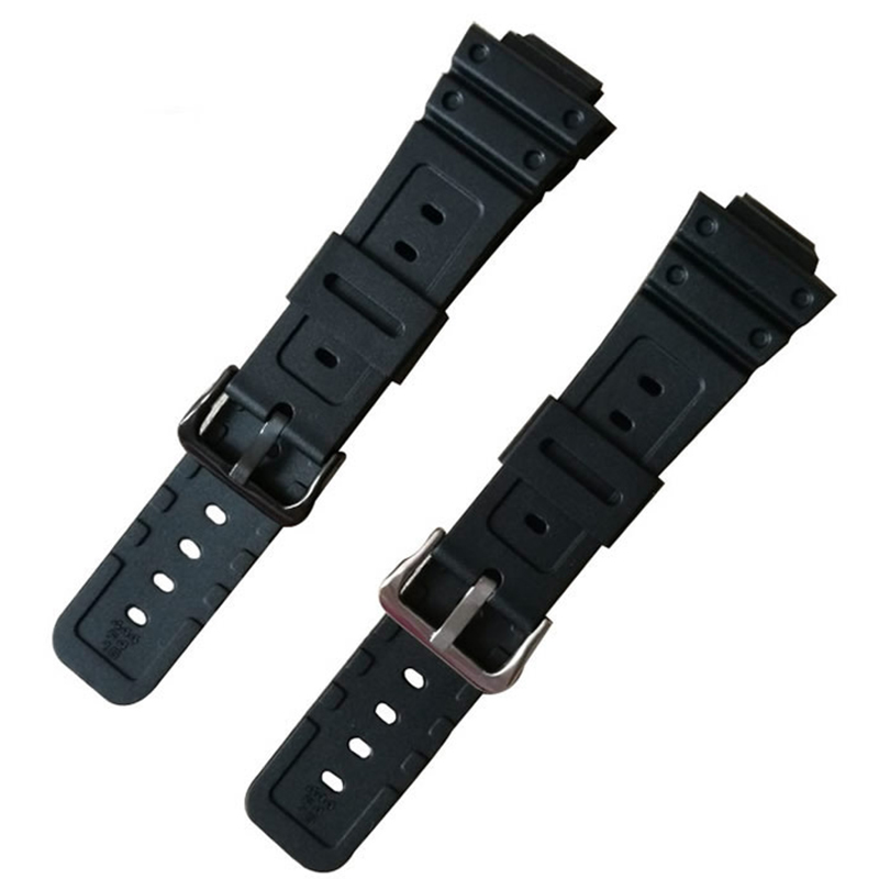 Watchband For G-shock GW-M5610 DW-6900 GW-M5600 DW-5600 G5700 Rubber Strap covex interface 16mm pu Watch band