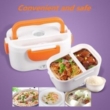 220v/110v Lunch Box Food Container Portable Electric Heating Food Warmer Heater Rice Container Dinnerware Sets цена и фото