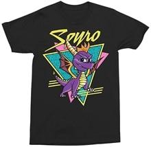 Spyro Die Drachen Retro Gamer Erwachsene T Hemd Cartoon t hemd männer Unisex Neue Mode t-shirt freies verschiffen top ajax lustige