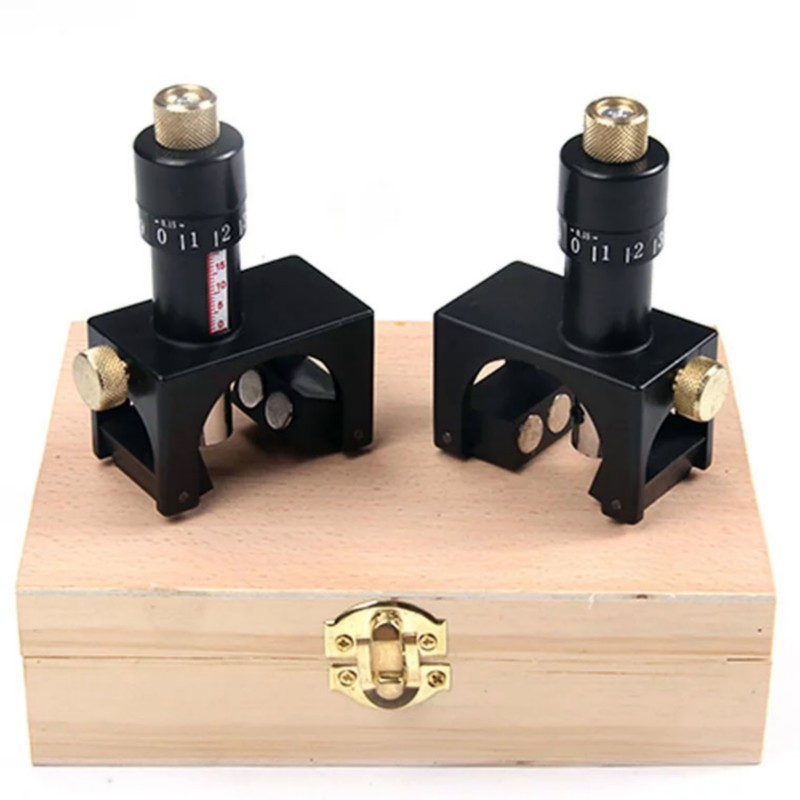 Table Woodworking Planer Setting Planing Setter 2pcs Jig Adjustable Magnetic Knife Device Height