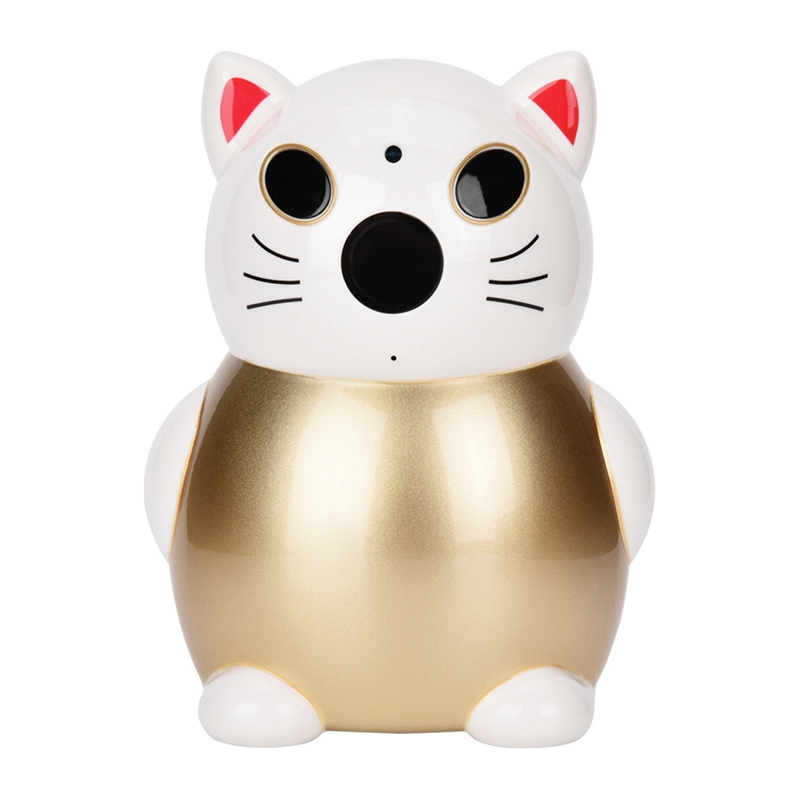 2.8Mm Million Hd Lens 1080P Hd Chinese Lucky Cat Wifi Cctv Ip Security Camera Ir Monitor Cam Security Camera Monitor Equipment