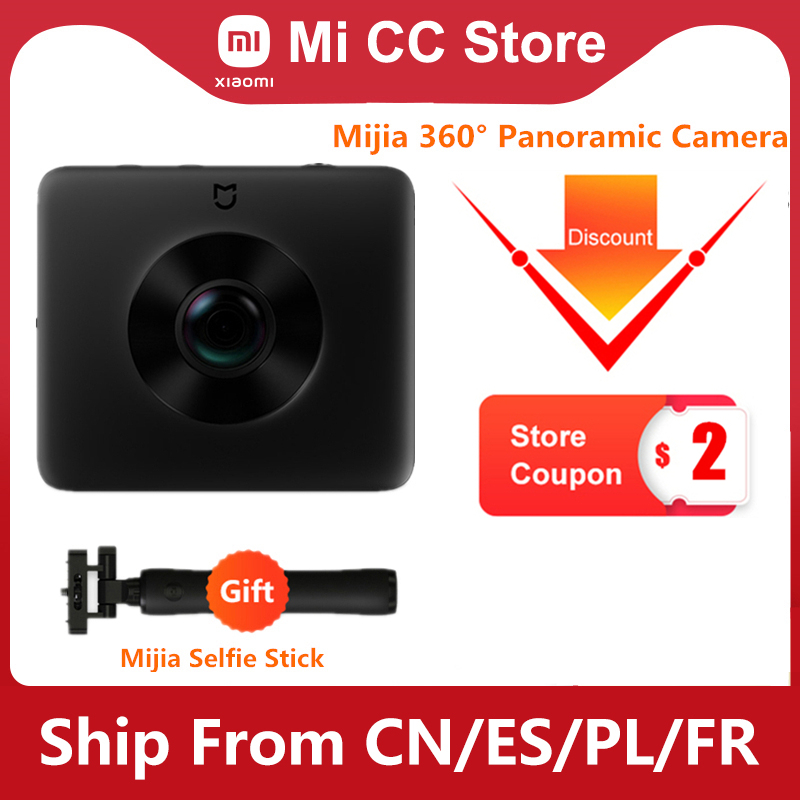 In Stock Xiaomi Mijia 360° Panoramic Camera 3.5K Video Recording Sphere Camera IP67 Rating WiFi Bluetooth Mini Sport Camcorder|360° Video Camera| - AliExpress